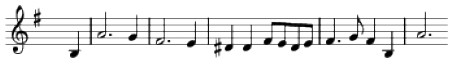 Dominant seventh example